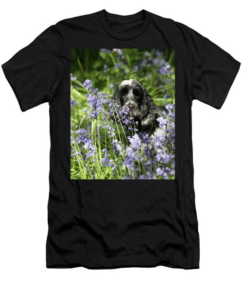 Sniffing Bluebells Men's T-Shirt (Athletic Fit)