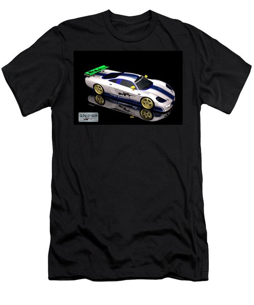 Sniper Car Series 01 Men's T-Shirt (Athletic Fit)