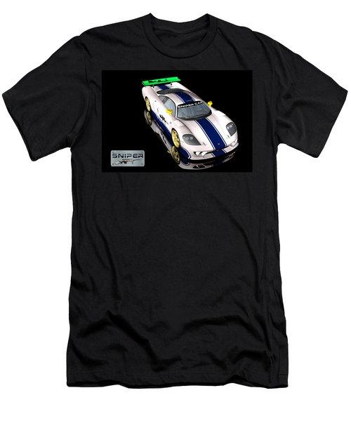 Sniper Car Series 2 Men's T-Shirt (Athletic Fit)