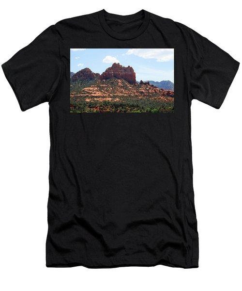 Snoopy Rock Men's T-Shirt (Athletic Fit)