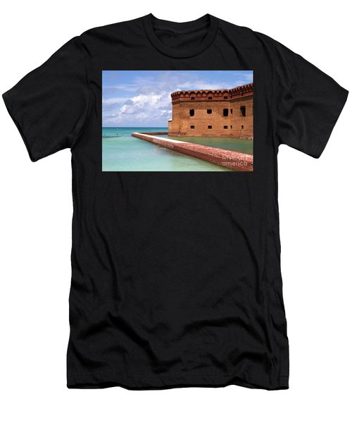 Snorkelers Fort Jefferson Men's T-Shirt (Athletic Fit)