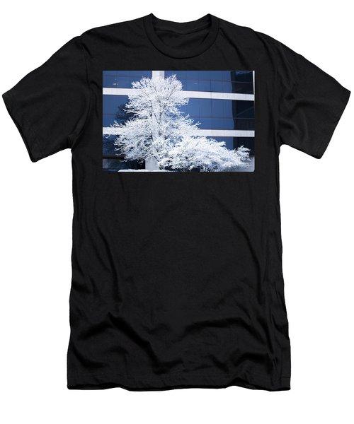 Snow Art Men's T-Shirt (Athletic Fit)