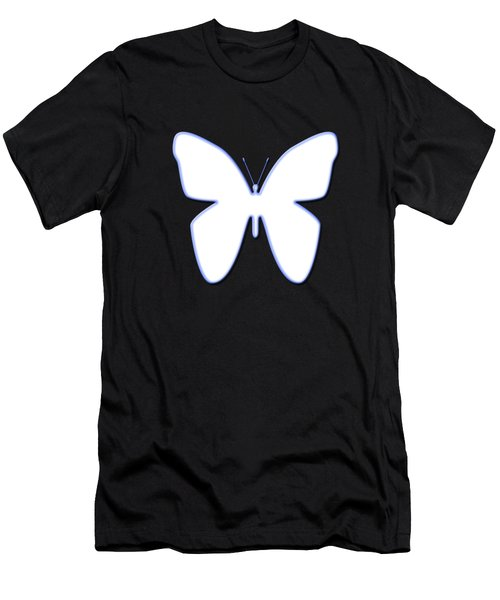 Snow Butterfly Men's T-Shirt (Athletic Fit)