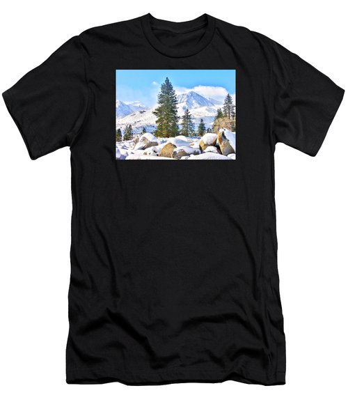 Snow Cool Men's T-Shirt (Athletic Fit)