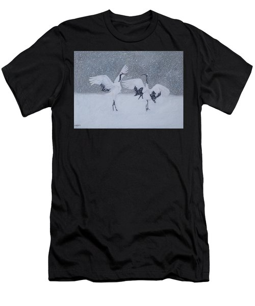 Snow Dancers Men's T-Shirt (Athletic Fit)