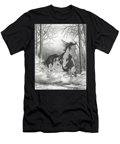 Snow Driftin' Men's T-Shirt (Athletic Fit)