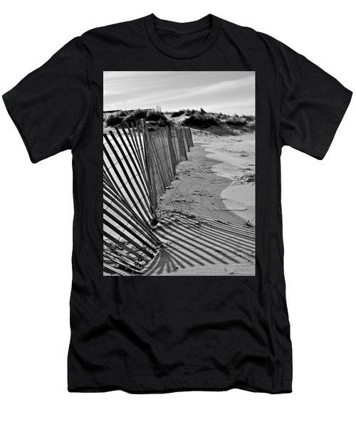 Snow Fence Men's T-Shirt (Athletic Fit)