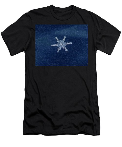 Snow Flake  Men's T-Shirt (Athletic Fit)