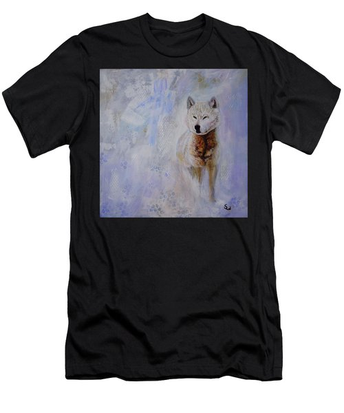 Snow Fox Men's T-Shirt (Athletic Fit)