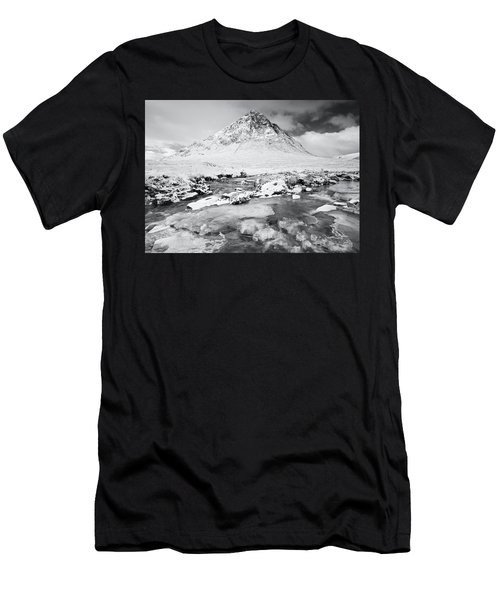 Snow In Glencoe Men's T-Shirt (Athletic Fit)