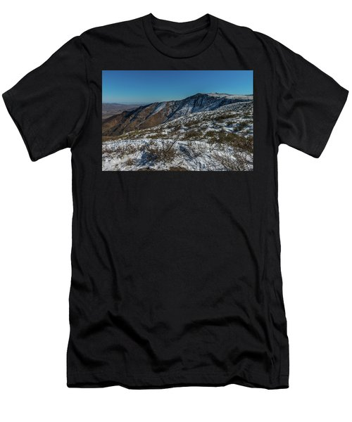 Snow In The Rain Shadow Men's T-Shirt (Athletic Fit)