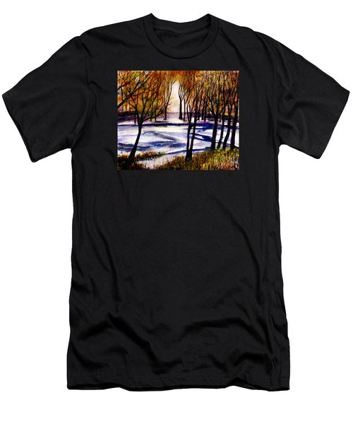 Snow On Lower Pasture Tonight Men's T-Shirt (Athletic Fit)