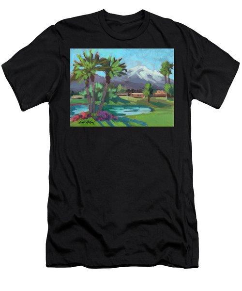 Snow On Mt. San Jacinto Men's T-Shirt (Athletic Fit)
