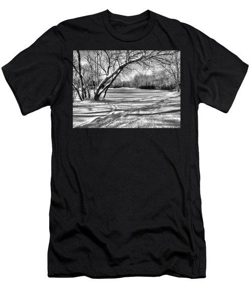 Snow Scripting Men's T-Shirt (Athletic Fit)