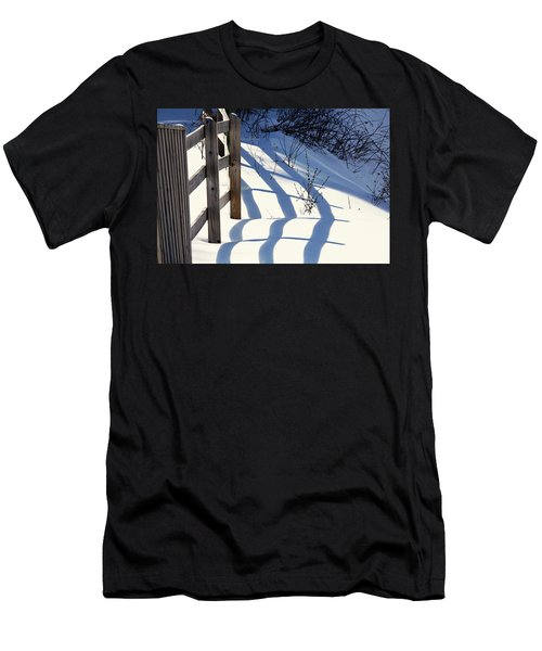 Snow, Sun And Shadows Men's T-Shirt (Athletic Fit)