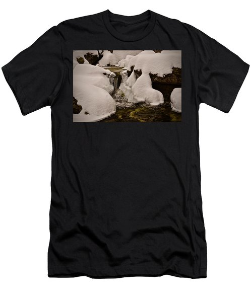 Snowcone Stream Men's T-Shirt (Athletic Fit)