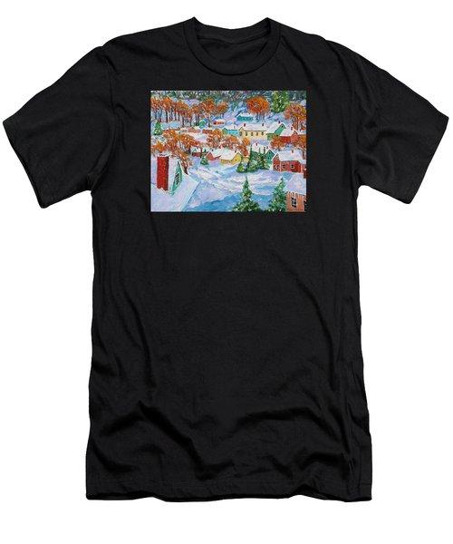 Snowed In Men's T-Shirt (Athletic Fit)