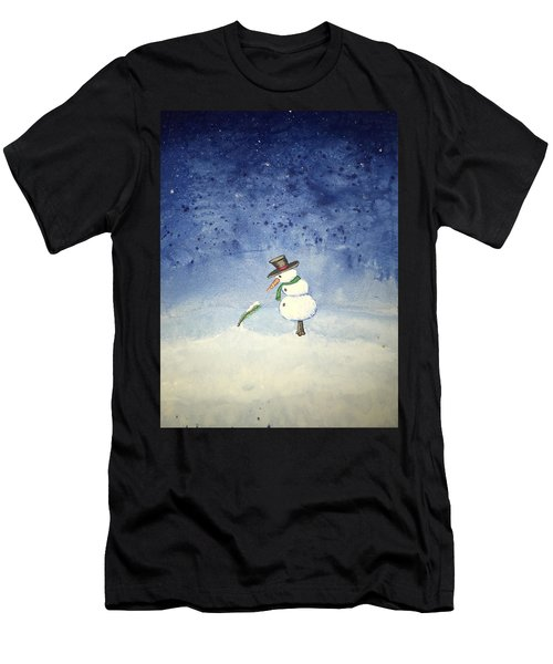 Snowfall Men's T-Shirt (Athletic Fit)
