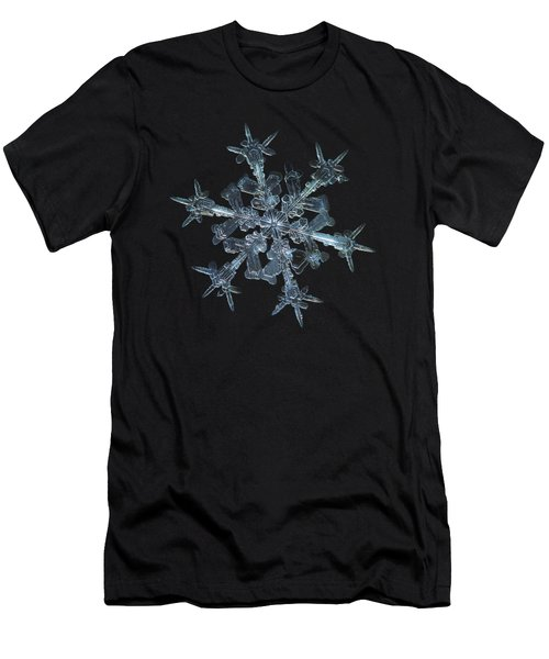 Snowflake Photo - Starlight Men's T-Shirt (Athletic Fit)