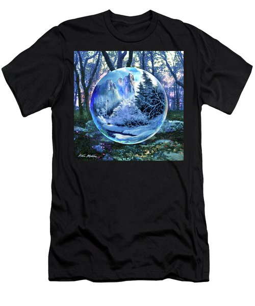 Snowglobular Men's T-Shirt (Athletic Fit)