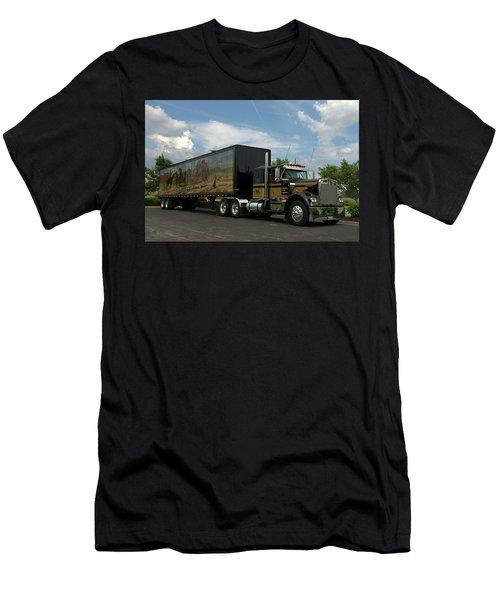 Snowmans Dream Replica Semi Trruck Men's T-Shirt (Athletic Fit)