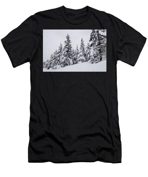 Snowy-1 Men's T-Shirt (Athletic Fit)