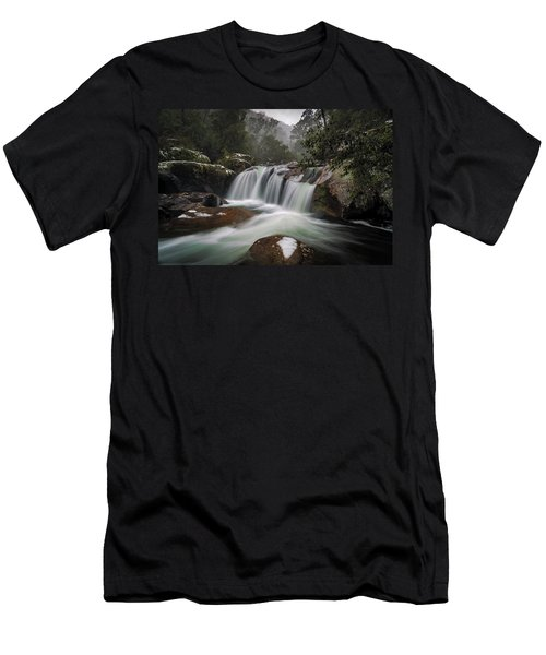 Snowy Mist Men's T-Shirt (Athletic Fit)