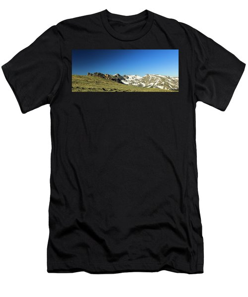 Snowy Top Men's T-Shirt (Athletic Fit)