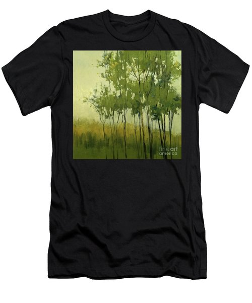 So Tall Tree Forest Landscape Painting Men's T-Shirt (Athletic Fit)