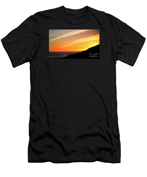 Men's T-Shirt (Athletic Fit) featuring the photograph Socal Sunet by Clayton Bruster