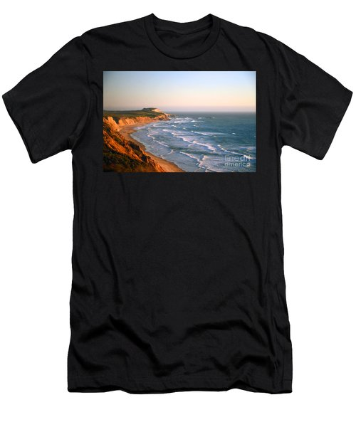Socal Sunset Ocean Front Men's T-Shirt (Athletic Fit)
