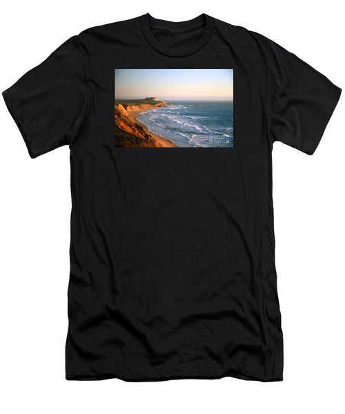 Socal Sunset Ocean Front Men's T-Shirt (Athletic Fit)