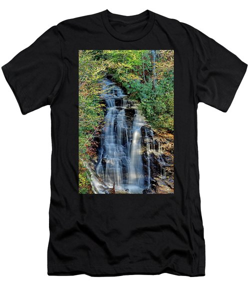 Soco Falls In Fall Men's T-Shirt (Athletic Fit)