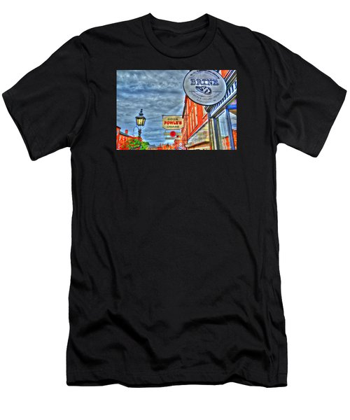 Soda Cigars And Brine Painterly   Men's T-Shirt (Athletic Fit)