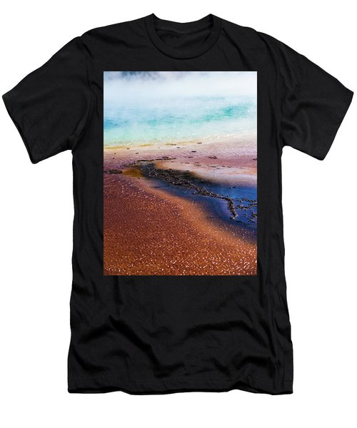 Men's T-Shirt (Athletic Fit) featuring the photograph Soda Water by Jeffrey Jensen