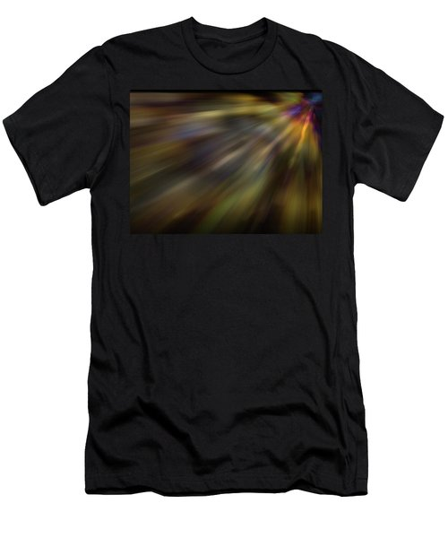 Soft Amber Blur Men's T-Shirt (Athletic Fit)