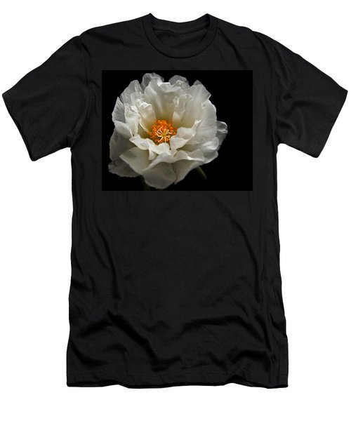 Men's T-Shirt (Slim Fit) featuring the photograph Soft And Pure by Judy Vincent