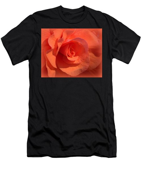 Soft Begonia Men's T-Shirt (Athletic Fit)