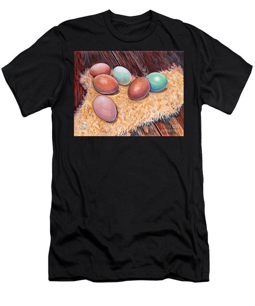 Soft Eggs Men's T-Shirt (Athletic Fit)