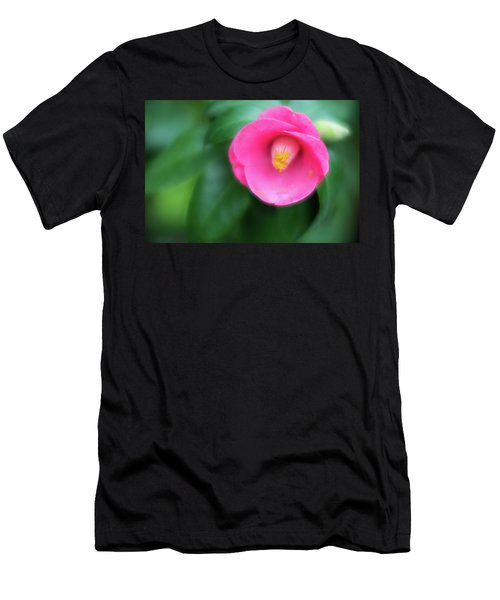 Soft Focus Flower 1 Men's T-Shirt (Athletic Fit)