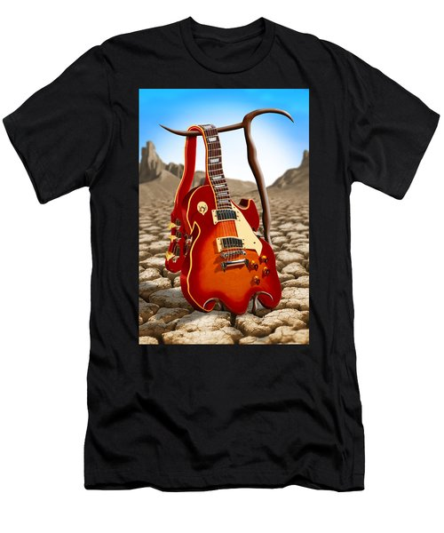 Soft Guitar Men's T-Shirt (Athletic Fit)