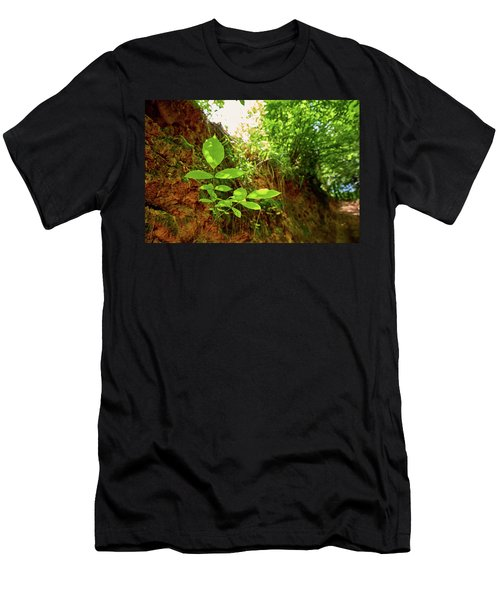 Men's T-Shirt (Athletic Fit) featuring the photograph Soft Simplicity by Tgchan