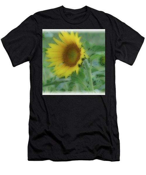 Soft Touch Sunflower Men's T-Shirt (Athletic Fit)