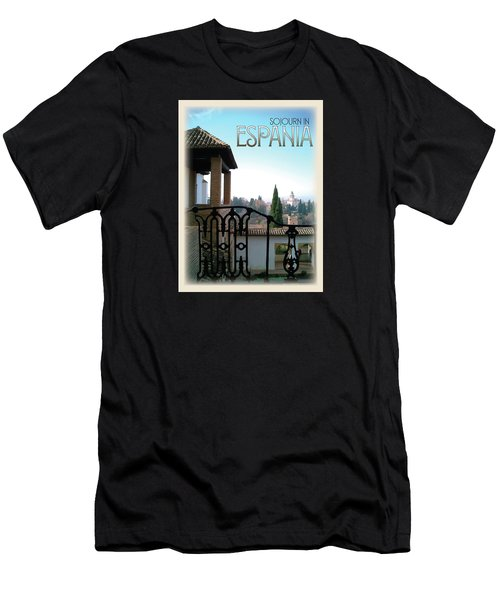 Sojourn In Espania Men's T-Shirt (Athletic Fit)