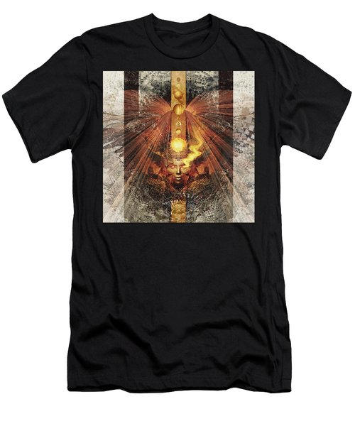 Men's T-Shirt (Athletic Fit) featuring the digital art SOL by Uwe Jarling