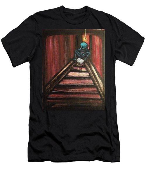 Solamente Alien Men's T-Shirt (Athletic Fit)
