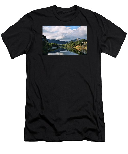 Solano Lake In The Fall Men's T-Shirt (Athletic Fit)