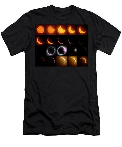 Solar Eclipse - August 21 2017 Men's T-Shirt (Athletic Fit)