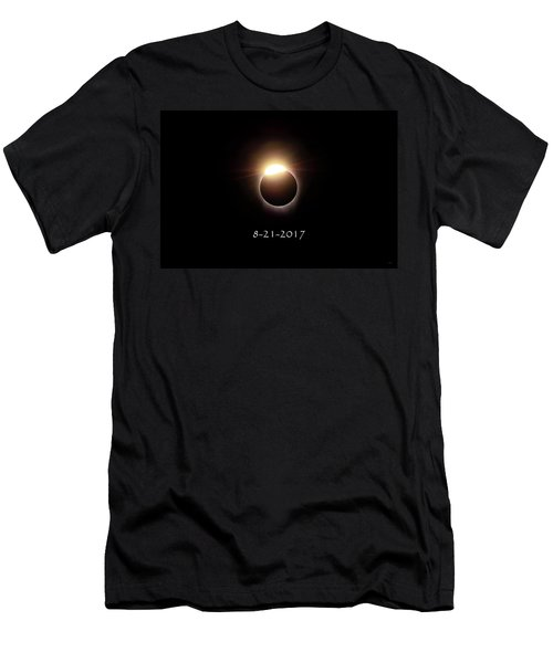 Solar Eclipse Diamond Phase Men's T-Shirt (Athletic Fit)