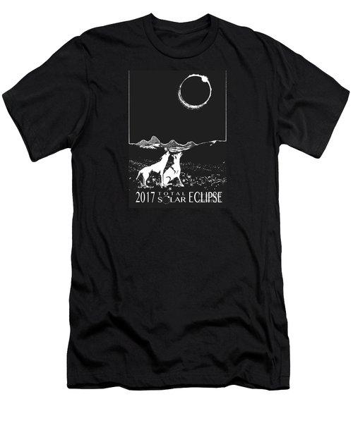 Solar Eclipse Men's T-Shirt (Athletic Fit)